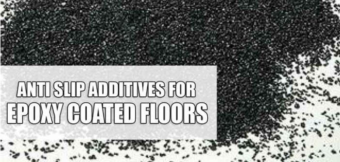 Anti slip properties of polyurea floor coatings
